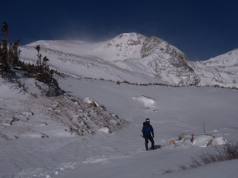 Mt. Bancroft, CO<br> the approach