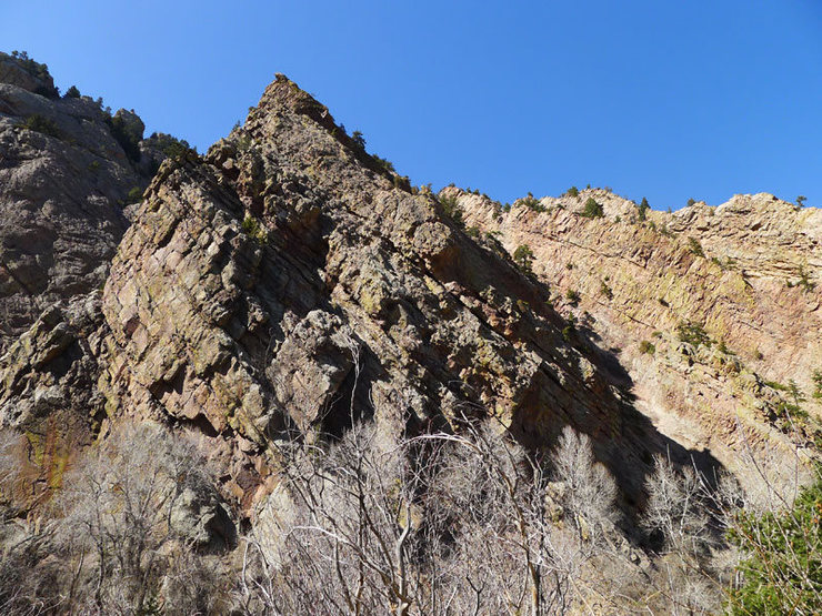 Rock Climbing Photo: S Face.