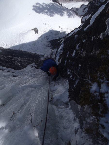 Rock Climbing Photo: Danny on P2.