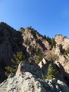 Rock Climbing Photo: Summit views.