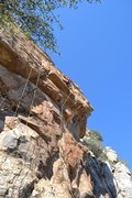 Rock Climbing Photo: view of the line