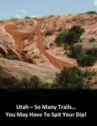 Rock Climbing Photo: Utah trails.