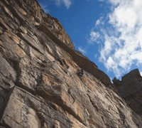 Rock Climbing Photo: Climber on No Dick Tick, Tick Farm sector.
