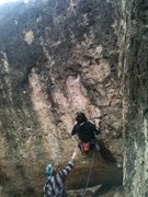 Rock Climbing Photo: Zach on The Mutant.