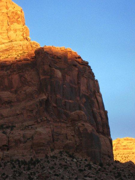 Rock Climbing Photo: April Fools Wall