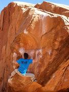 Rock Climbing Photo: Circus Trick