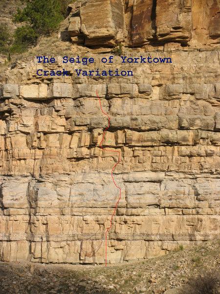 Siege of Yorktown Crack variation