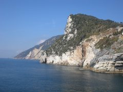 Rock Climbing Photo: Muzzerone as seen from Porto Venere. Most of the c...