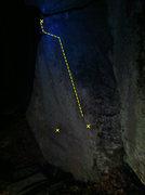 Rock Climbing Photo: Moon Arete