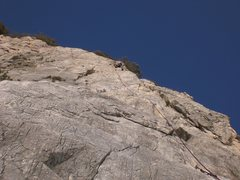 Rock Climbing Photo: You can really see how adequately protected the ro...