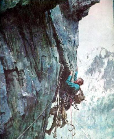 Rock Climbing Photo: This image was an inspiration to me as an aspiring...