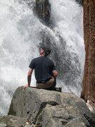 Rock Climbing Photo: Water!