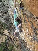 Rock Climbing Photo: Nailed it!