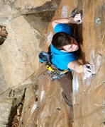 Rock Climbing Photo: The classic Crimp Scampi.  SUPER route!