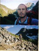 Rock Climbing Photo: North Cascades Hiking 2003