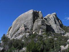 Rock Climbing Photo: East side of Comp Rock