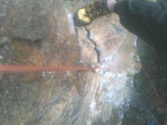 Rock Climbing Photo: CrackJoy looking down