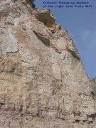 Rock Climbing Photo: Right side of Uvula Wall