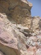 Rock Climbing Photo: Closeup of welded coldshut anchors