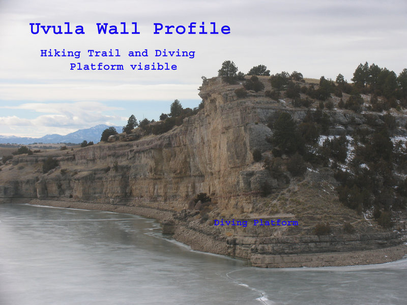 Rock Climbing Photo: The Diving Platform