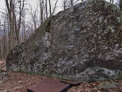 Rock Climbing Photo: Aunt Jemima on the left portion of the tall part o...