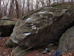 """Rock Climbing Photo: """"Cry Wolf"""", Wolf Blocks, Luminary Area, ..."""