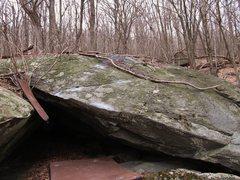 "Rock Climbing Photo: ""Red Riding Hood"", Wolf Blocks, Luminary..."