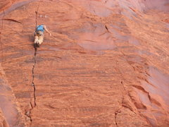 Rock Climbing Photo: Wayne sending the 2ed ascent