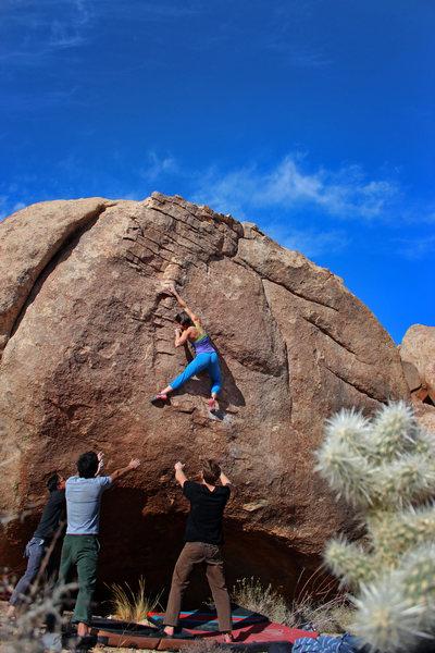 Rock Climbing Photo: Natalie Duran on Alexandria