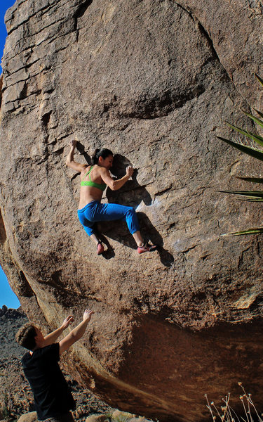 Rock Climbing Photo: Natalie Duran on Alexandria