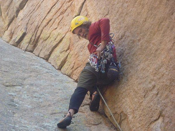 Rock Climbing Photo: Having fun
