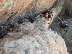 Rock Climbing Photo: Skip Vasquez on the Fenn