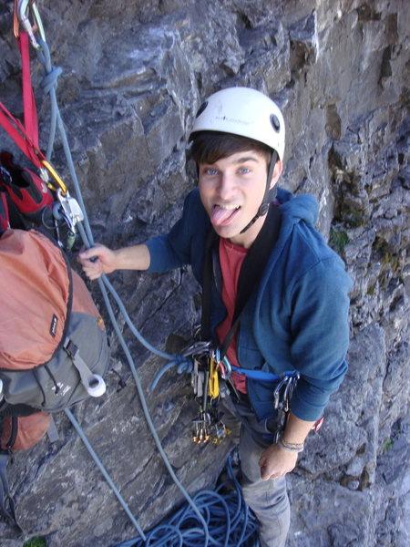 Rock Climbing Photo: Climbing Black Streak