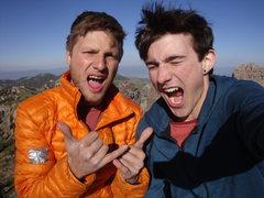 Rock Climbing Photo: SUMIT!