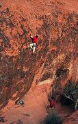 Rock Climbing Photo: Pump First, Pay Later