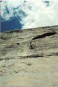 Rock Climbing Photo: Courtright reservoir, Power Dome, Mike Fogarty Run...
