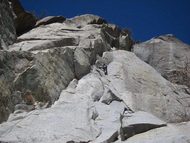 Rock Climbing Photo: Greg Miller gettin' an early March lap on Gordon's...
