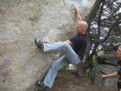 Rock Climbing Photo: Crackerboy, Black Mountain, Ca