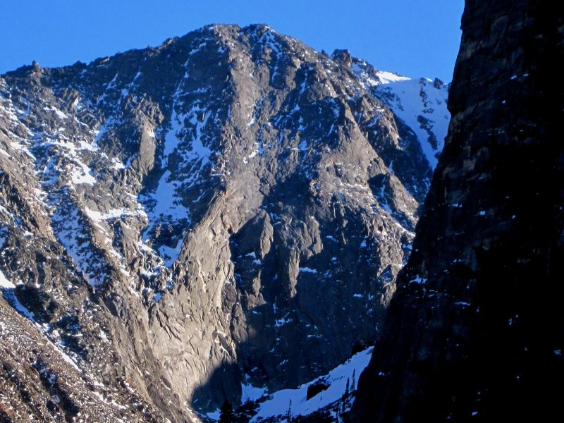 Rock Climbing Photo: The Vanquished/Inquisition wall on Powell Peak (zo...