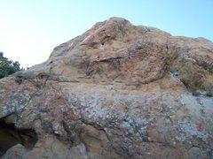Rock Climbing Photo: Deuce Biegelow, V3.