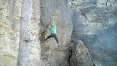 Rock Climbing Photo: in palisades park