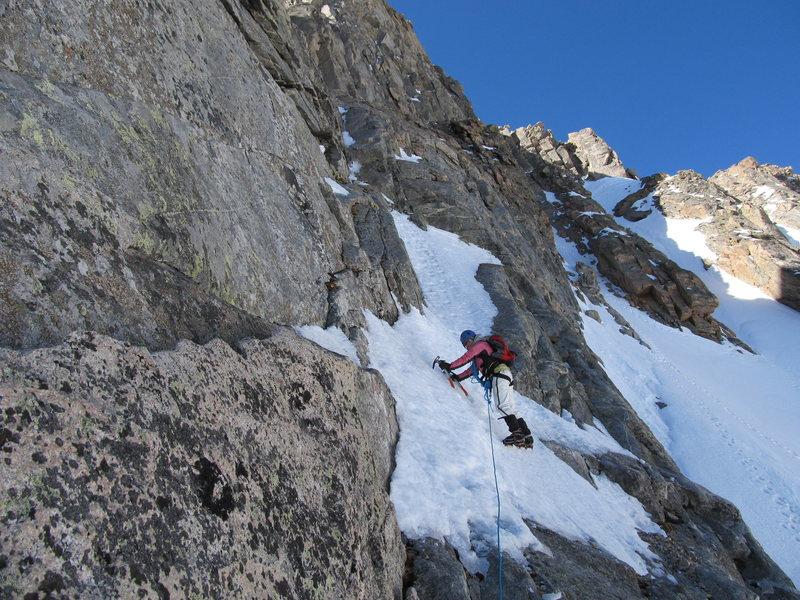 Rock Climbing Photo: Snave Direct  Mt. Evans, CO 6/2011