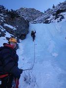 Rock Climbing Photo: Three Tiers-starting 1st pitch  Ten Mile Canyon, C...