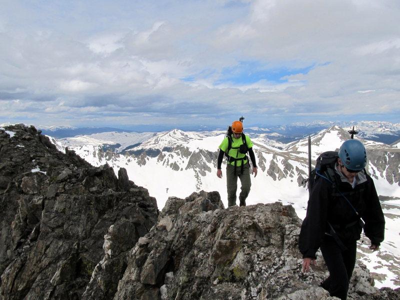 Rock Climbing Photo: West Ridge  Quandary Peak, CO 6/2011