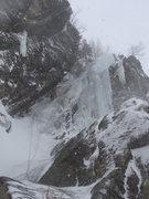 Rock Climbing Photo: Hitchcock Gully  Mt. Willard, NH 02/2012