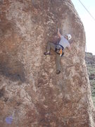 Rock Climbing Photo: Susan on 'Roto Evaporator'