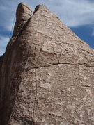 "Rock Climbing Photo: The route ""Mama's boy goes home"" is just..."