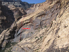 Rock Climbing Photo: The Black Widow.  Photo credit: John Hegyes