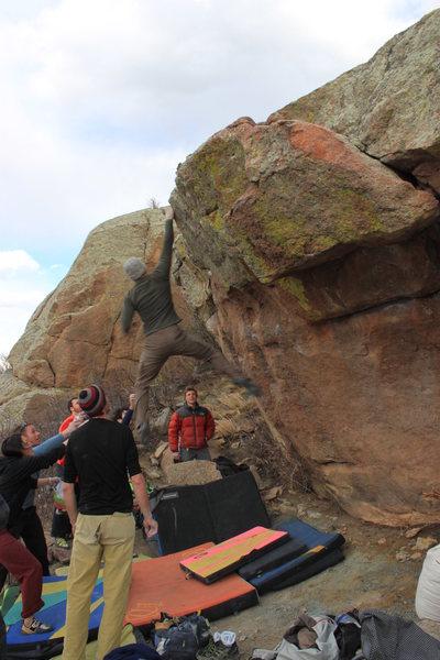 Rock Climbing Photo: DynoMan