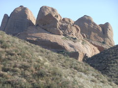 Rock Climbing Photo: Texas Canyon from the Silver King OHV Trail.